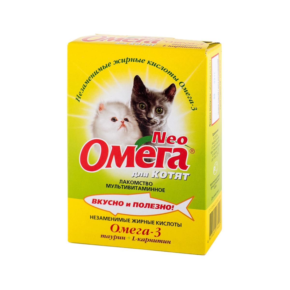 Омега Neo для котят с таурином и L-карнитином