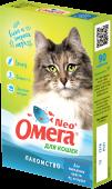 Омега Neo+ для выведения шерсти из желудка кошек