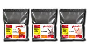 Витаминно-минеральный комплекс для сельскохозяйственных животных и птиц Фармавит Neo в упаковке 100 г и 200 г с обновлённым дизайном этикетки